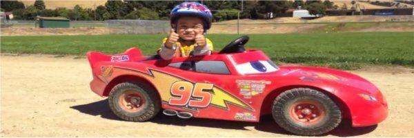wyścigówka dla syna