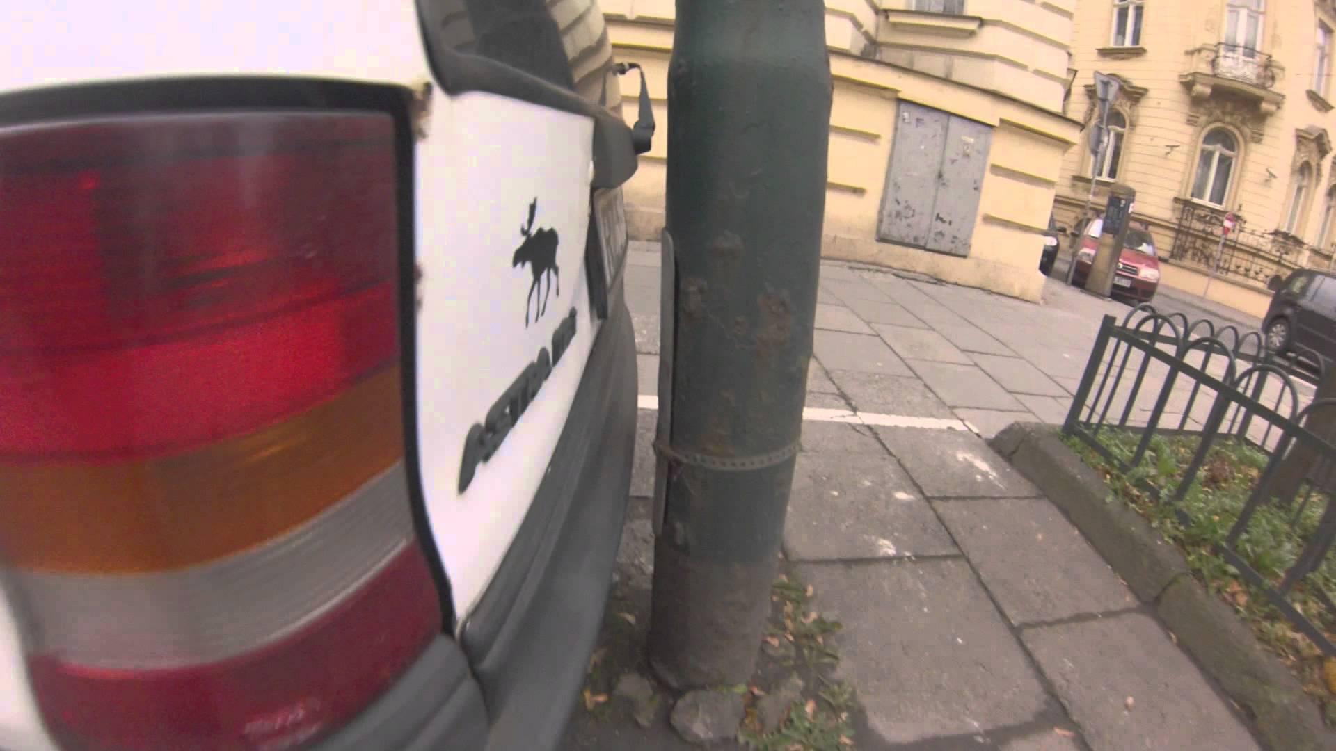 Mistrz parkowania z Polski
