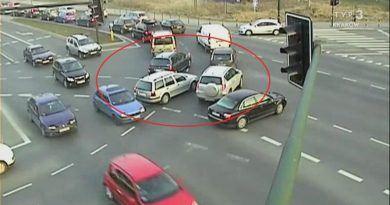 Grzechy kierowców – blokowanie skrzyżowania