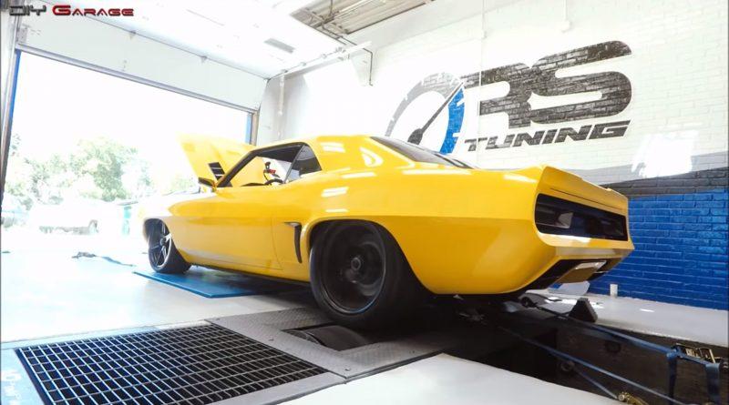 Chevrolet Camaro 1969 renowacja