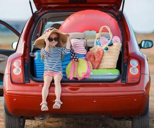 Sposoby na umilanie podróży dziecku